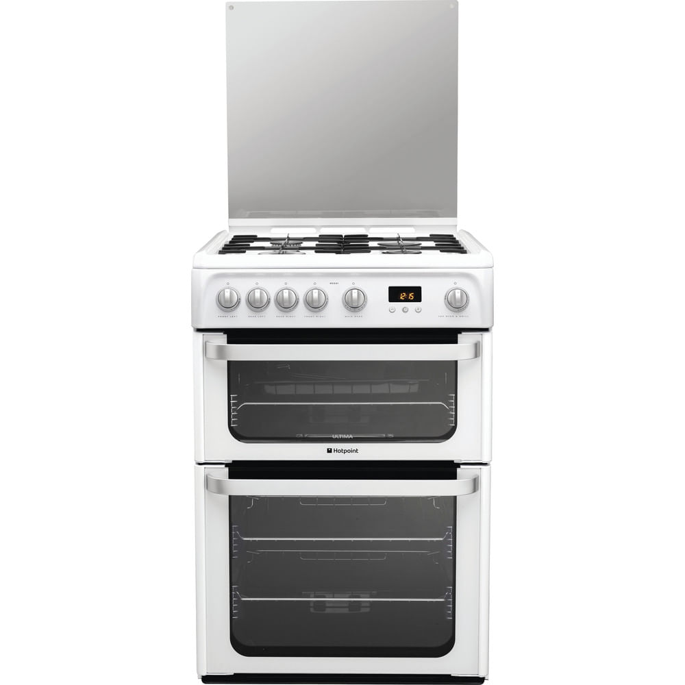 Hotpoint Double Cooker HUG61P : discover the specifications of our home appliances and bring the innovation into your house and family.
