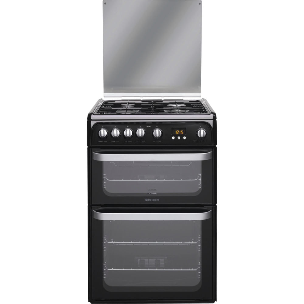 Hotpoint Double Cooker HUG61K : discover the specifications of our home appliances and bring the innovation into your house and family.