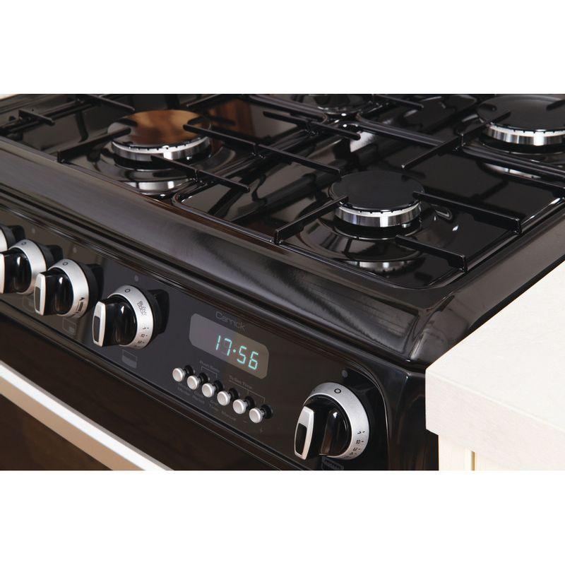 Hotpoint-Double-Cooker-CH60GCIK-Black-A--Enamelled-Sheetmetal-Lifestyle_Control_Panel