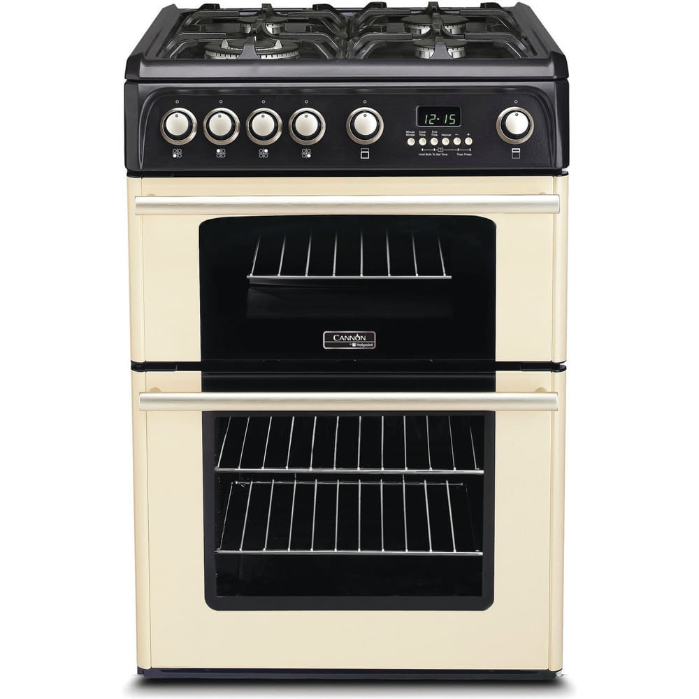 Hotpoint Double Cooker CH60GPCF : discover the specifications of our home appliances and bring the innovation into your house and family.