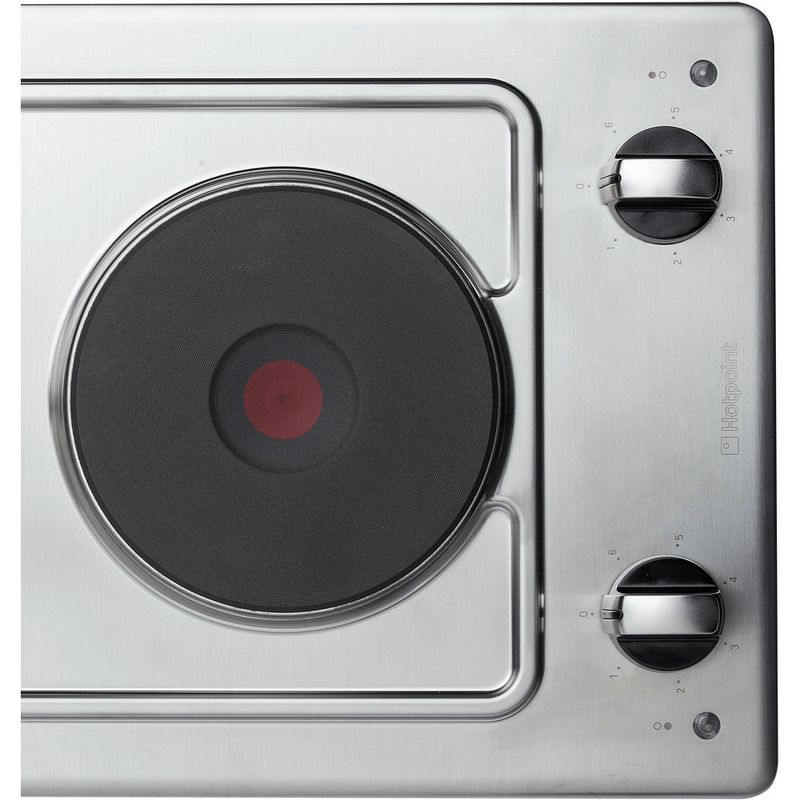 Hotpoint-HOB-E320SKIX-Inox-Solid-Plate-Frontal