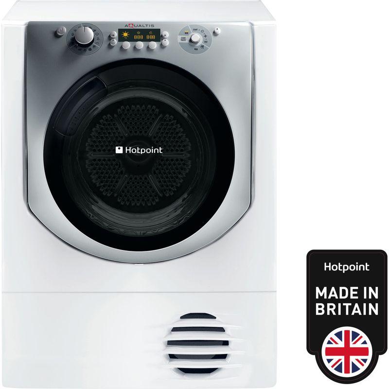 Hotpoint-Dryer-AQC9-BF7-E1--UK--White-Frontal