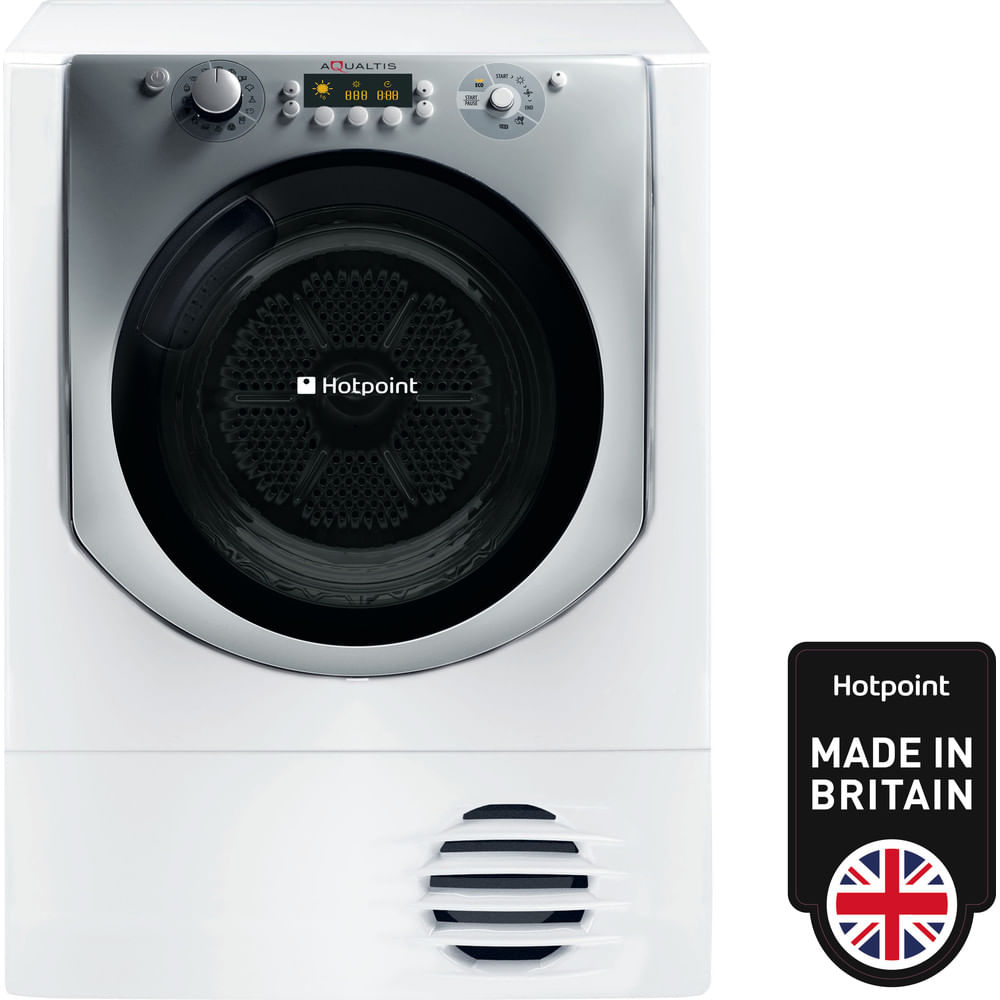 Hotpoint Freestanding tumble dryer AQC9 BF7 E1 (UK) : discover the specifications of our home appliances and bring the innovation into your house and family.