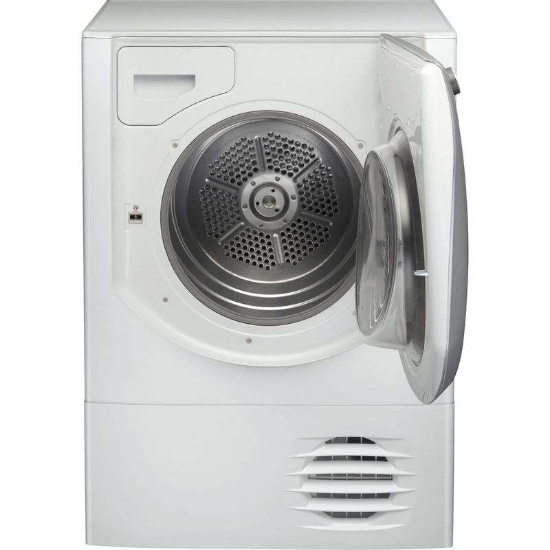 Hotpoint-Dryer-AQC9-BF7-E1--UK--White-Frontal-open