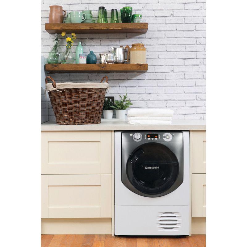 Hotpoint-Dryer-AQC9-BF7-E1--UK--White-Lifestyle-frontal