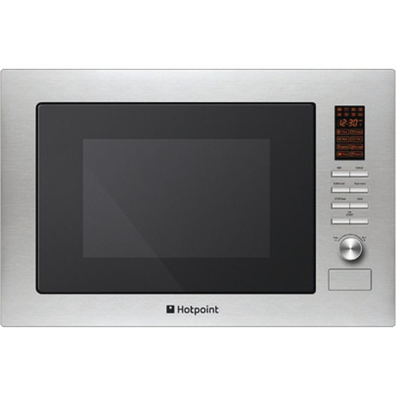 Hotpoint-Microwave-Built-in-MWH-222.1-X-Stainless-steel-Electronic-25-MW-Grill-function-900-Frontal