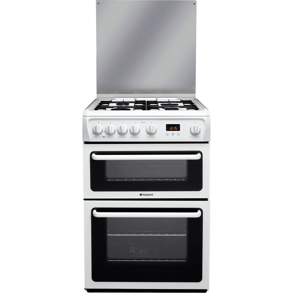 Hotpoint Double Cooker HAGL60P : discover the specifications of our home appliances and bring the innovation into your house and family.
