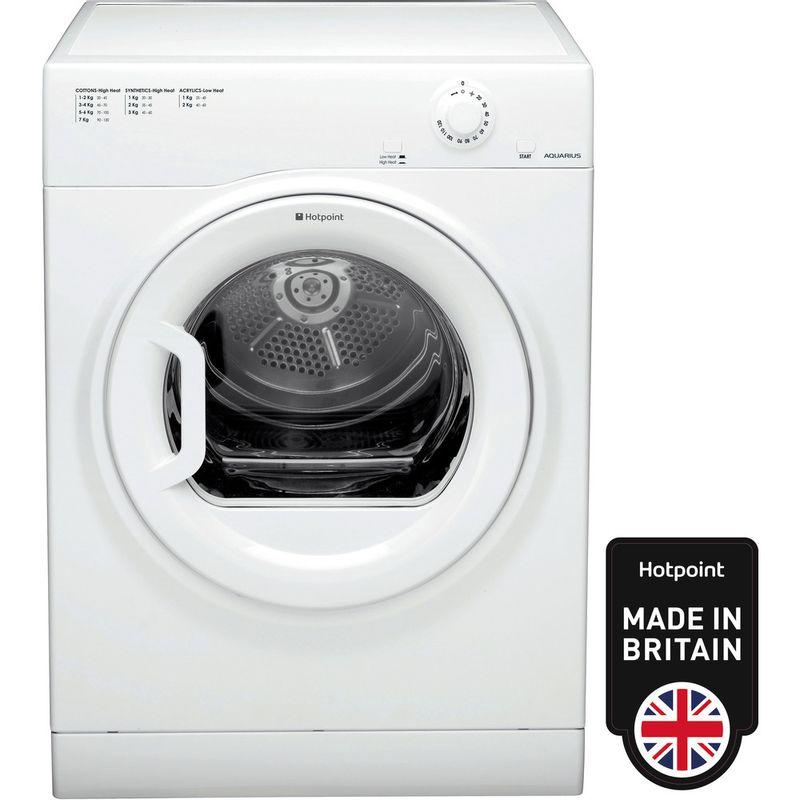 Hotpoint-Dryer-TVFM-70B-GP--UK--White-Frontal