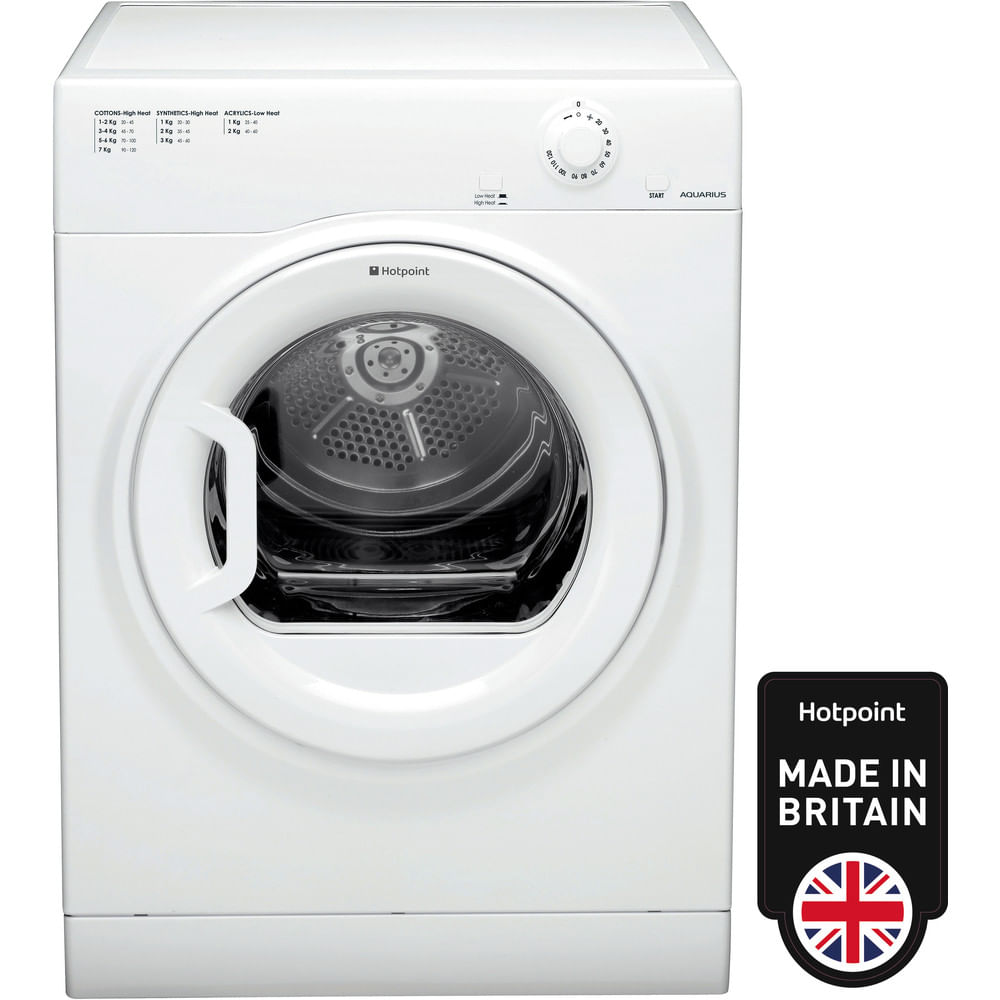 Hotpoint Freestanding tumble dryer TVFM 70B GP (UK) : discover the specifications of our home appliances and bring the innovation into your house and family.