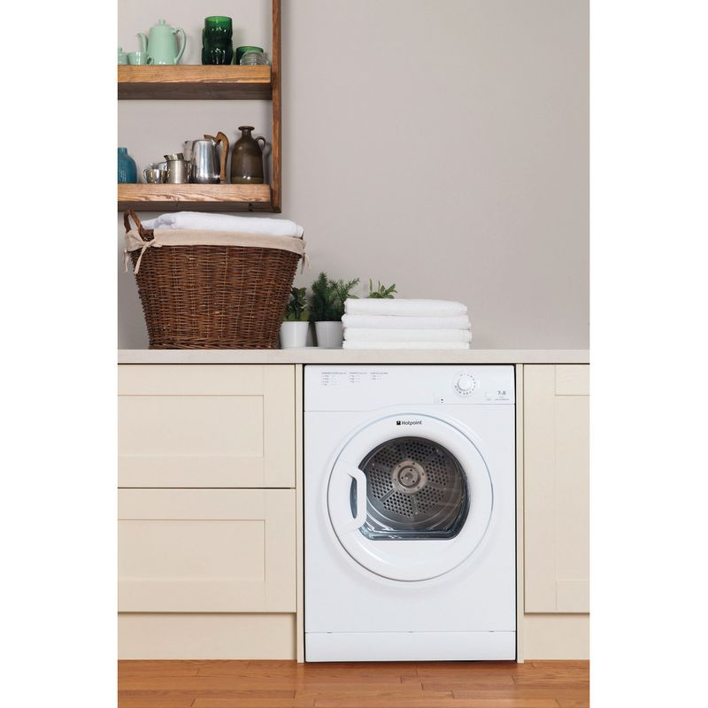 Hotpoint-Dryer-TVFM-70B-GP--UK--White-Lifestyle-frontal