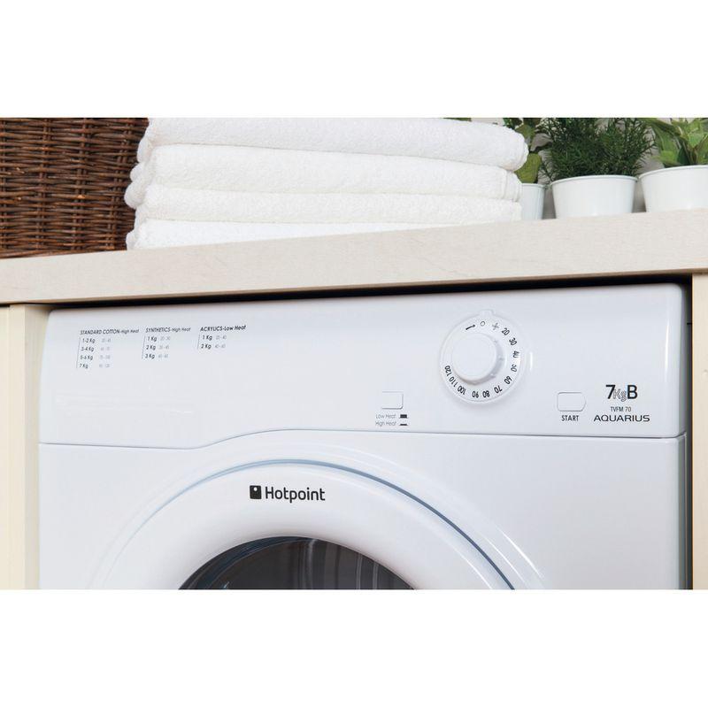 Hotpoint-Dryer-TVFM-70B-GP--UK--White-Lifestyle-control-panel