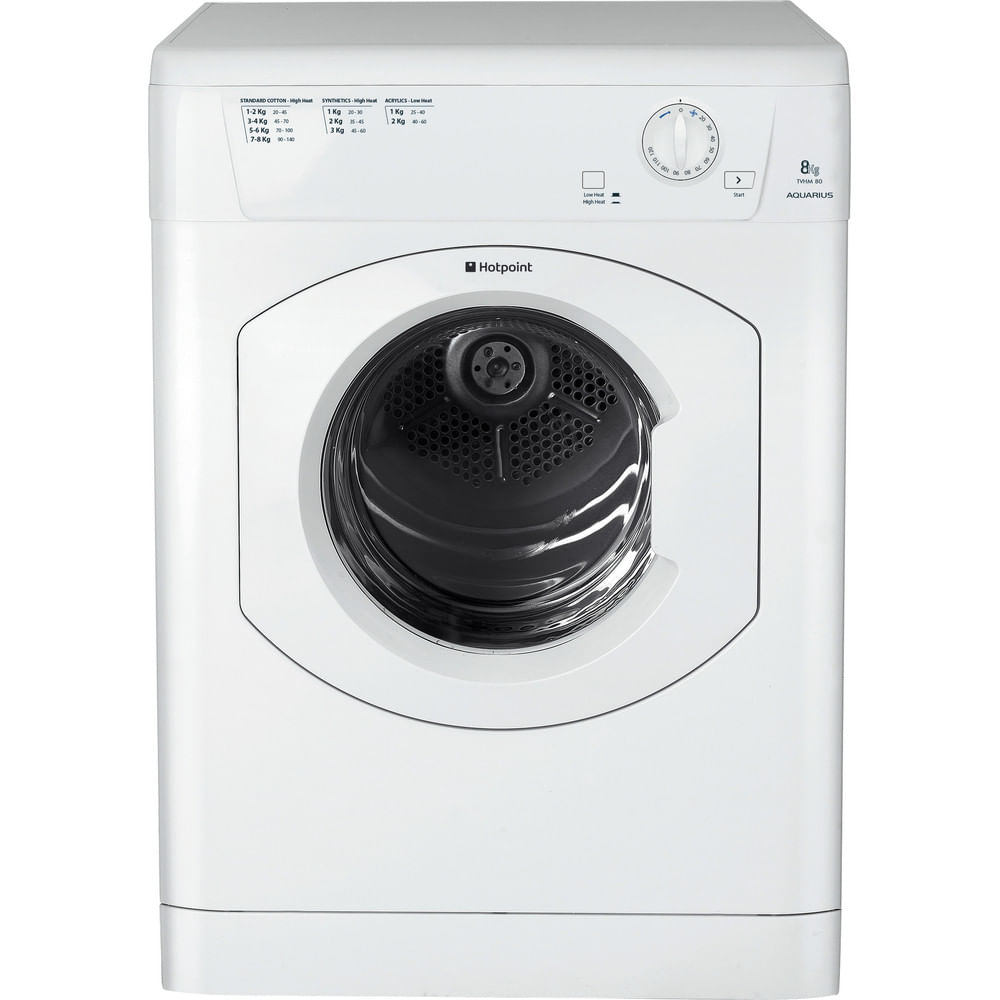 Hotpoint Freestanding tumble dryer TVHM 80C P (UK) : discover the specifications of our home appliances and bring the innovation into your house and family.