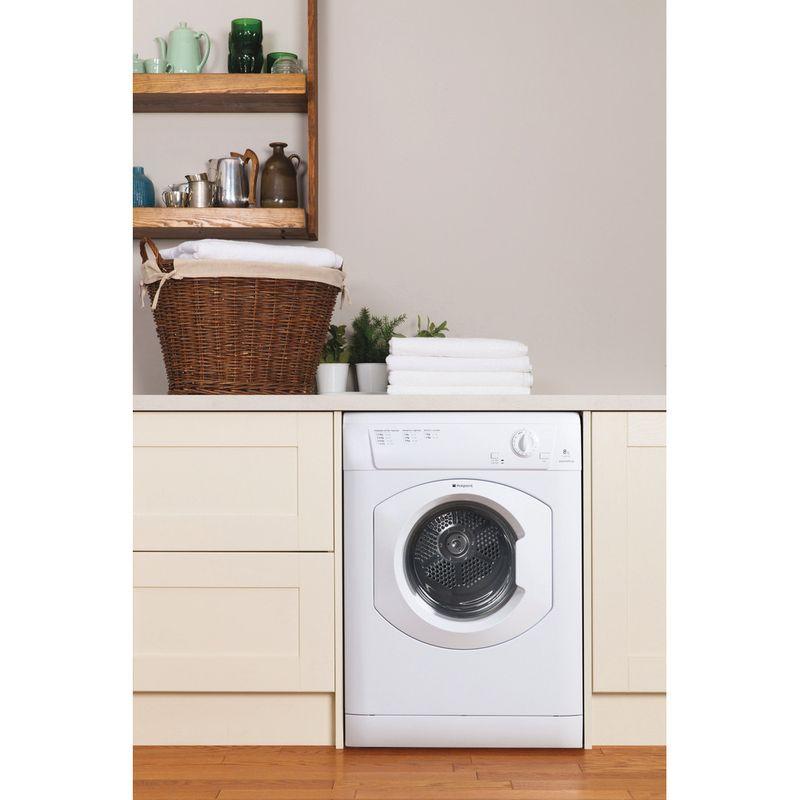 Hotpoint-Dryer-TVHM-80C-P--UK--White-Lifestyle-frontal