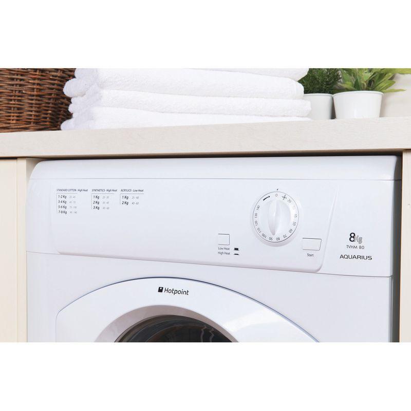 Hotpoint-Dryer-TVHM-80C-P--UK--White-Lifestyle-control-panel