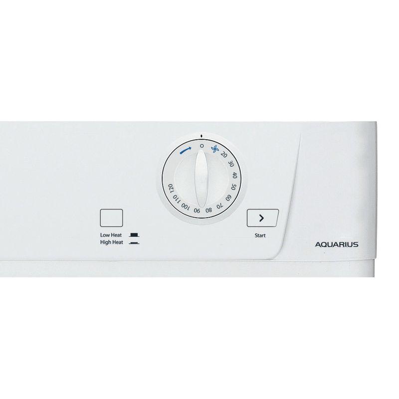 Hotpoint-Dryer-TVHM-80C-P--UK--White-Control-panel
