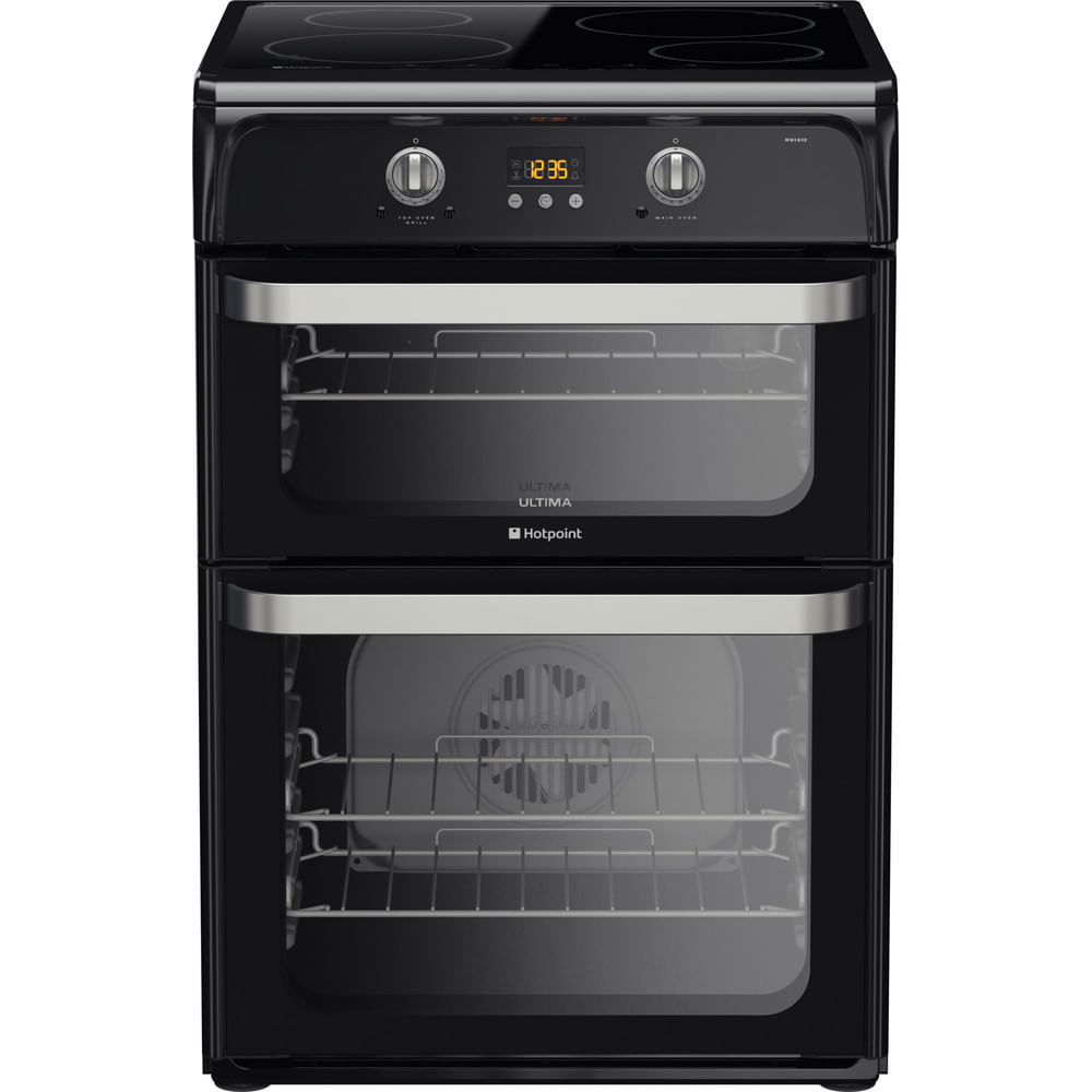Hotpoint Double Cooker HUI612 K : discover the specifications of our home appliances and bring the innovation into your house and family.