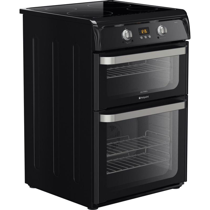 Hotpoint-Double-Cooker-HUI612-K-Black-A-Vitroceramic-Perspective