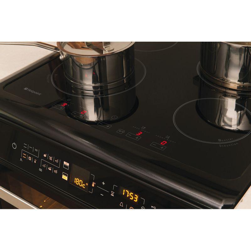 Hotpoint-Double-Cooker-HUI612-K-Black-A-Vitroceramic-Lifestyle-control-panel