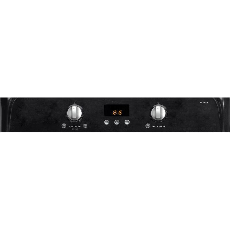 Hotpoint-Double-Cooker-HUI612-K-Black-A-Vitroceramic-Control-panel
