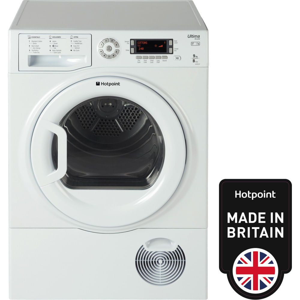 Hotpoint Freestanding tumble dryer SUTCD 97B 6PM (UK) : discover the specifications of our home appliances and bring the innovation into your house and family.