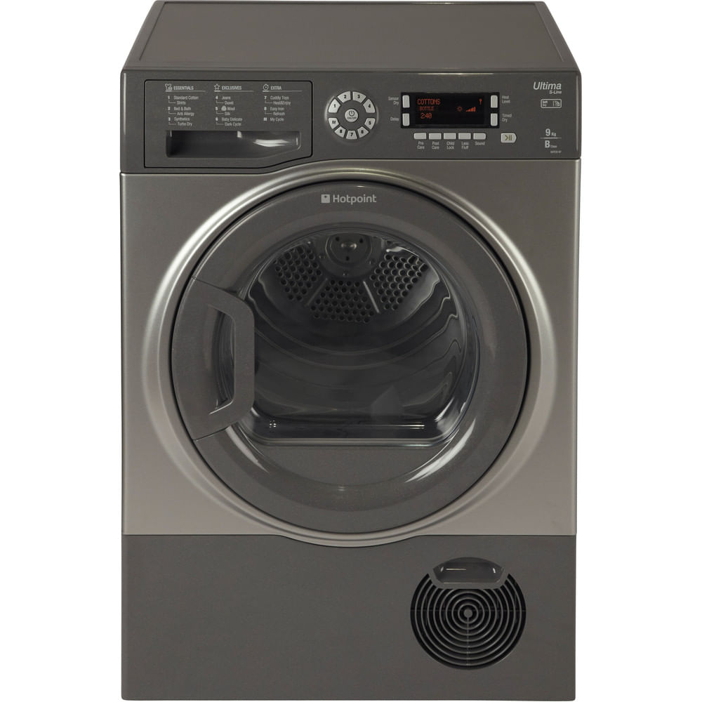 Hotpoint Freestanding tumble dryer SUTCD 97B 6GM (UK) : discover the specifications of our home appliances and bring the innovation into your house and family.