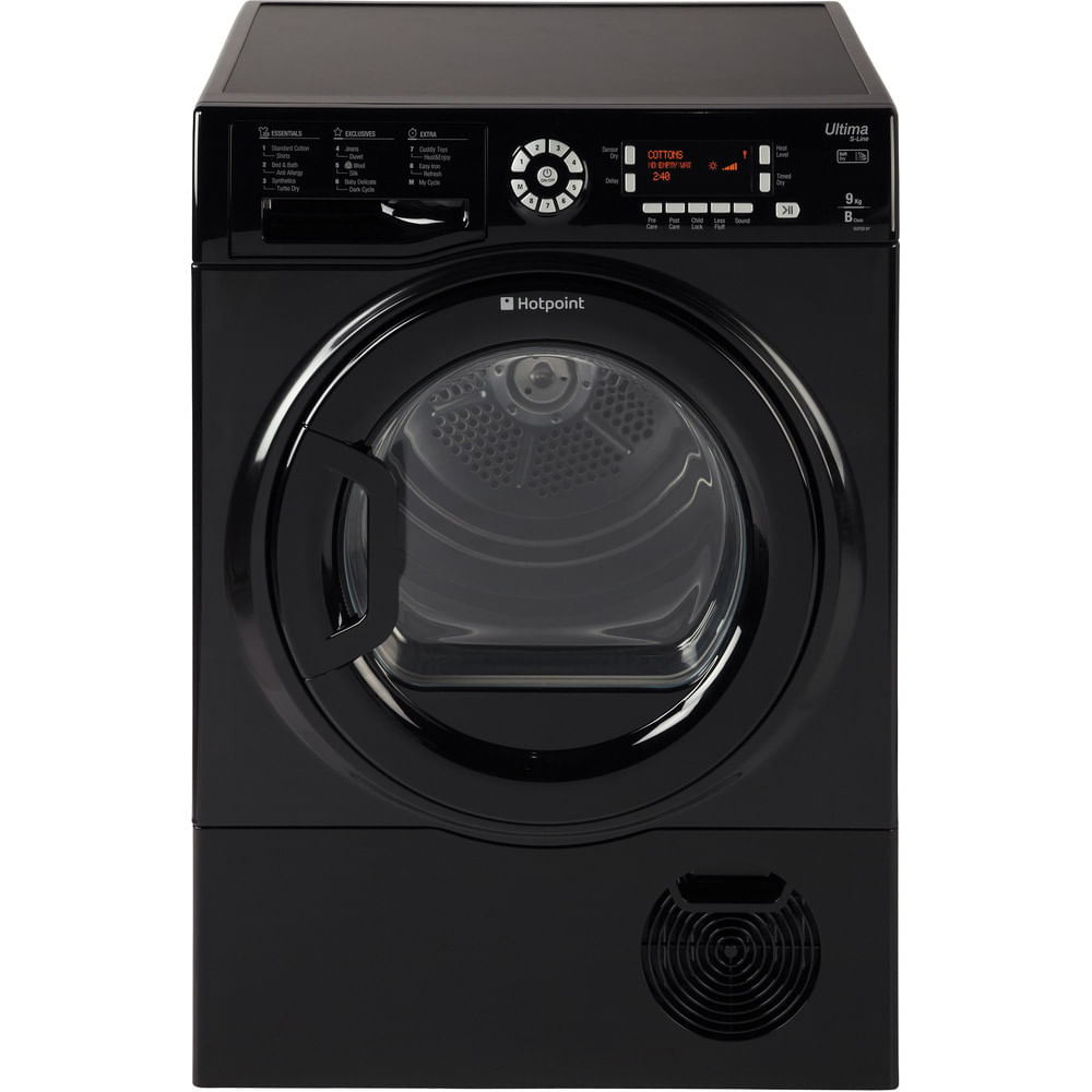 Hotpoint Freestanding tumble dryer SUTCD 97B 6KM (UK) : discover the specifications of our home appliances and bring the innovation into your house and family.