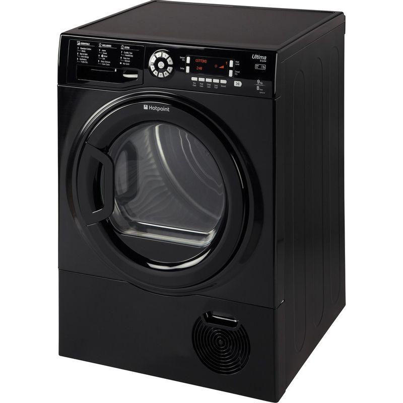 Hotpoint-Dryer-SUTCD-97B-6KM--UK--Black-Perspective