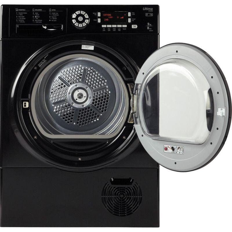 Hotpoint-Dryer-SUTCD-97B-6KM--UK--Black-Frontal_Open