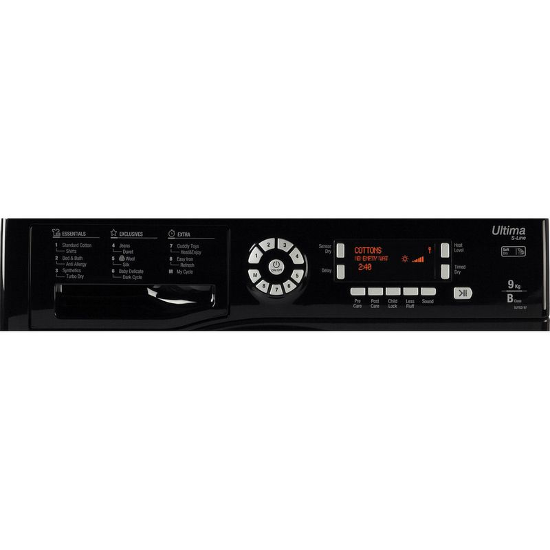 Hotpoint-Dryer-SUTCD-97B-6KM--UK--Black-Control_Panel