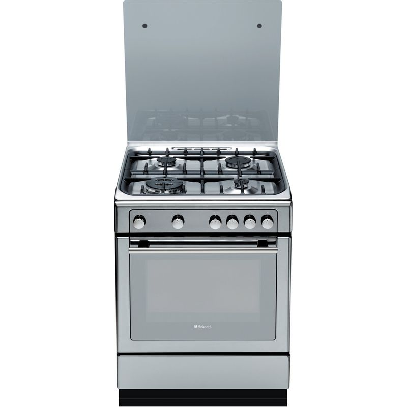 Hotpoint-Cooker-DHG65SG1CX-Inox-Frontal