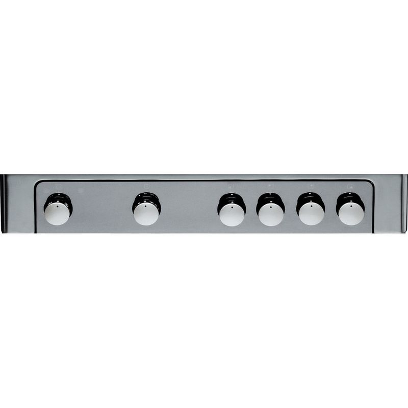 Hotpoint-Cooker-DHG65SG1CX-Inox-Control-panel