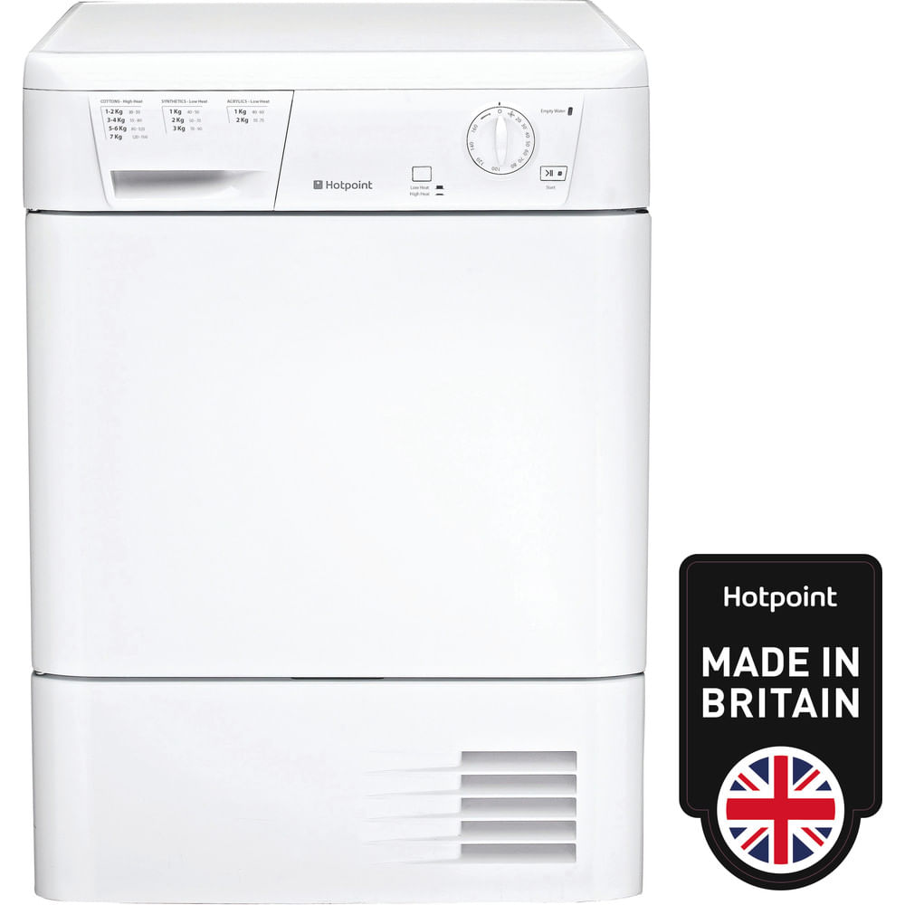 Hotpoint Freestanding tumble dryer FETC 70B P (UK) : discover the specifications of our home appliances and bring the innovation into your house and family.