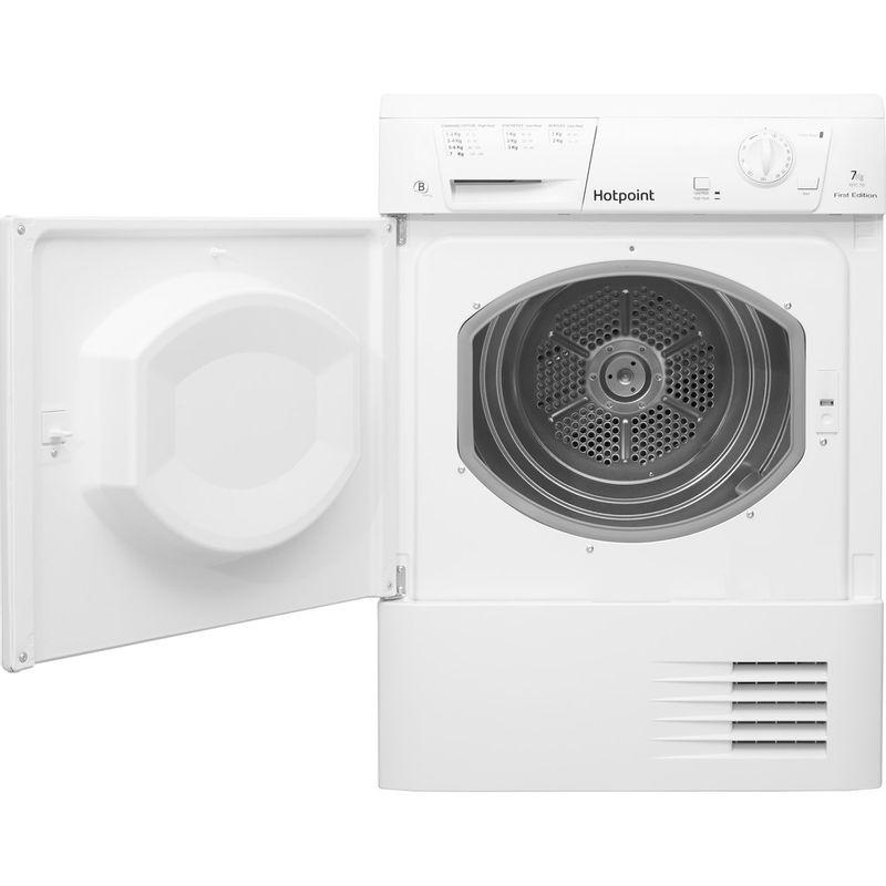 Hotpoint-Dryer-FETC-70B-P--UK--White-Frontal_Open