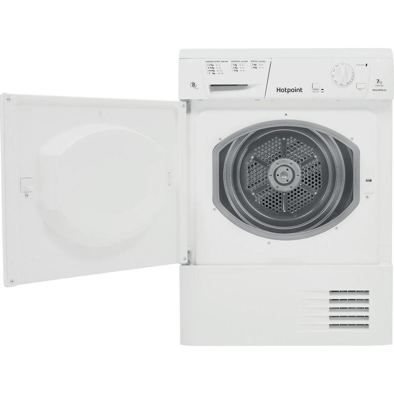 Hotpoint-Dryer-CDN-7000B-P--UK--White-Frontal-open