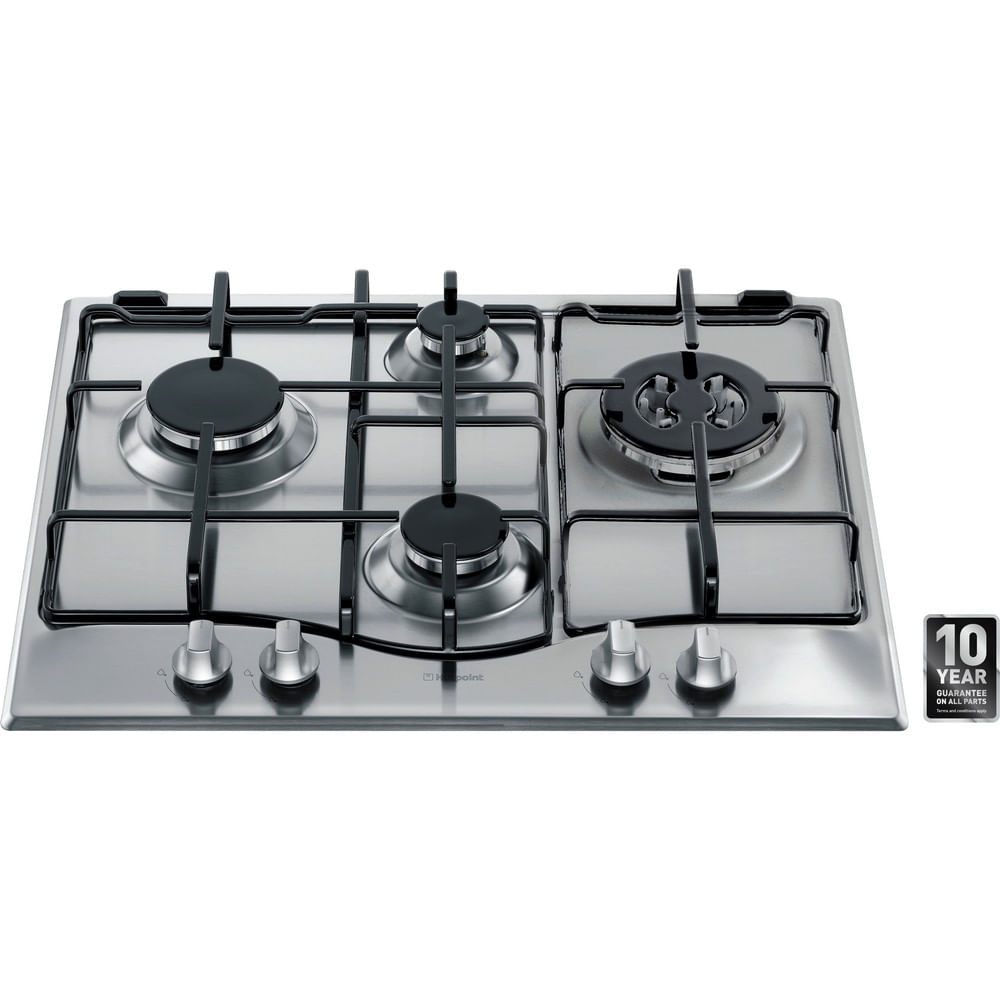 Hotpoint Gas Hob GC640TX : discover the specifications of our home appliances and bring the innovation into your house and family.