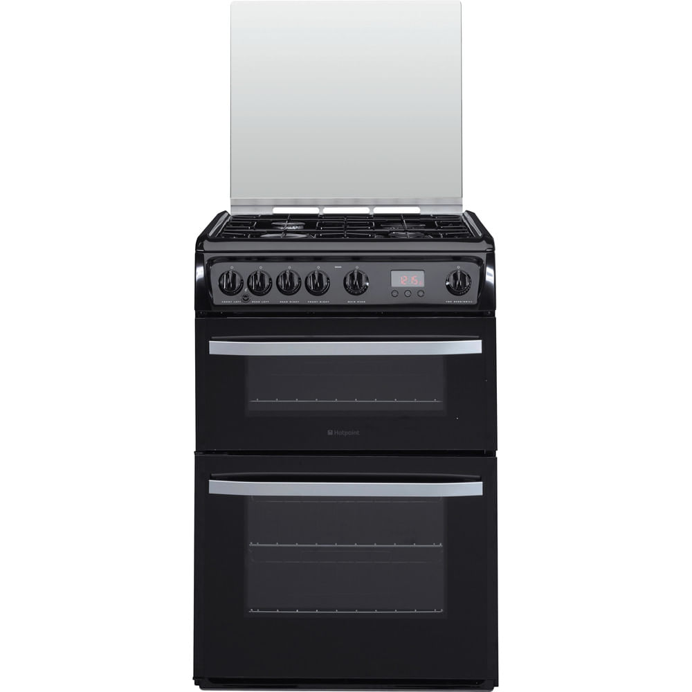 Hotpoint Double Cooker DSG60K : discover the specifications of our home appliances and bring the innovation into your house and family.