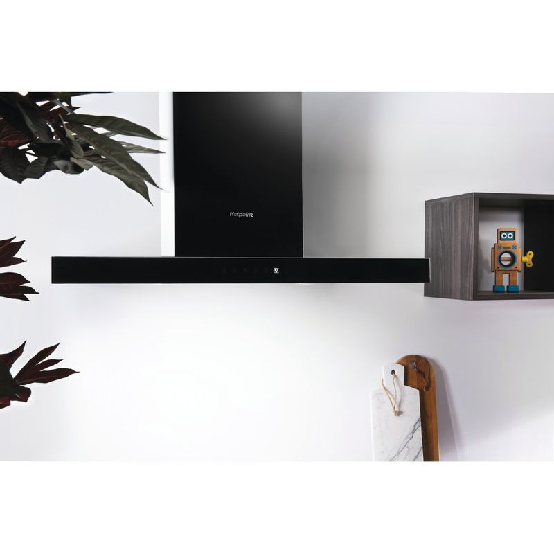 Hotpoint-HOOD-Built-in-PHBS9.8CLTDK-Black-Wall-mounted-Electronic-Lifestyle-frontal