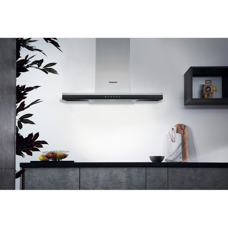 Hotpoint-HOOD-Built-in-PHBG9.8LTSIX-Inox-Wall-mounted-Electronic-Lifestyle-frontal