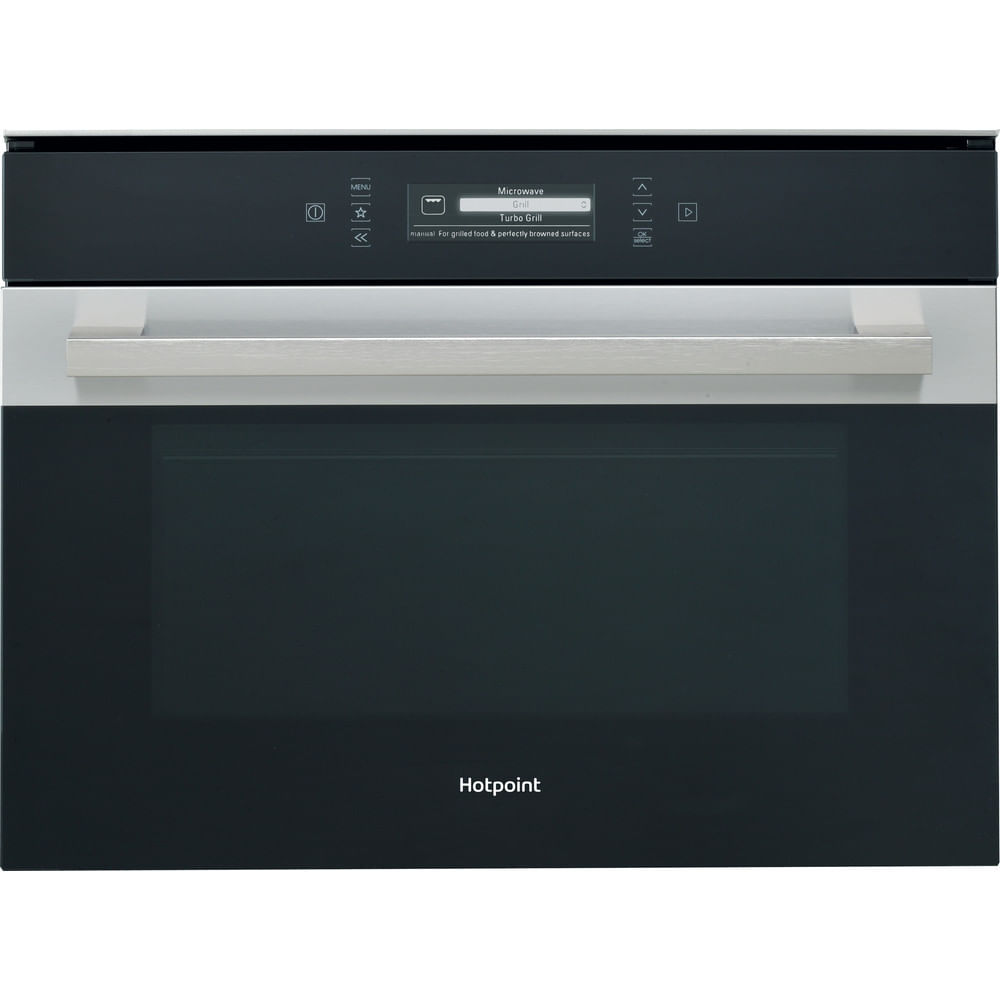 Hotpoint Built in Microwave oven MP 996 IX H : discover the specifications of our home appliances and bring the innovation into your house and family.