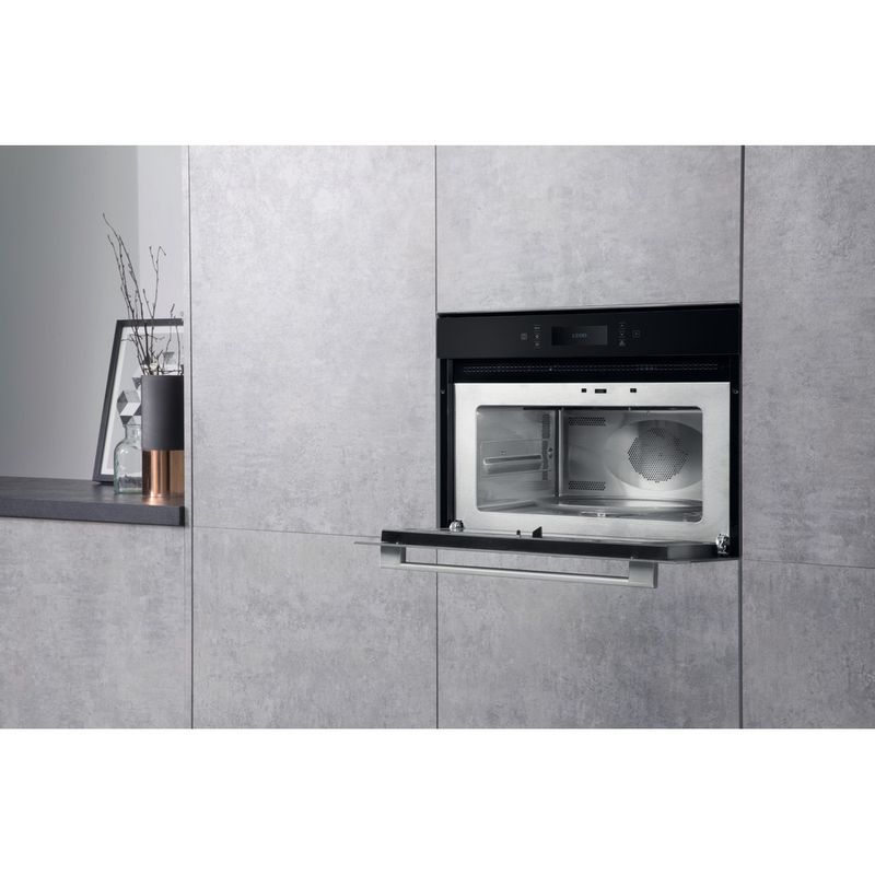 Hotpoint-Microwave-Built-in-MP-996-IX-H-Stainless-steel-Electronic-40-MW-Combi-900-Lifestyle-perspective-open