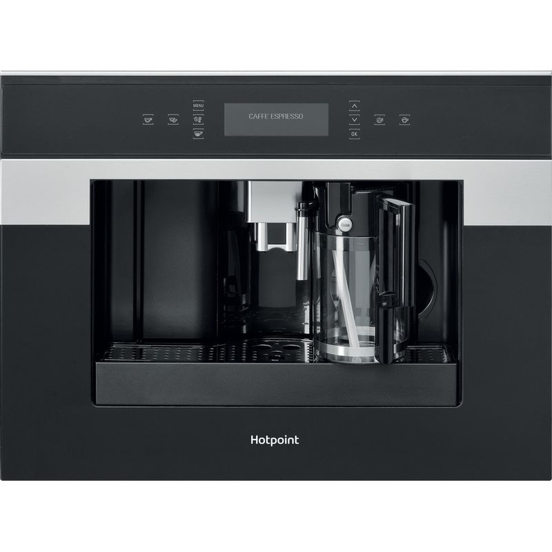 Hotpoint-Built-in-coffee-machine-CM-9945-H-Black-Inox-Fully-automatic-Frontal