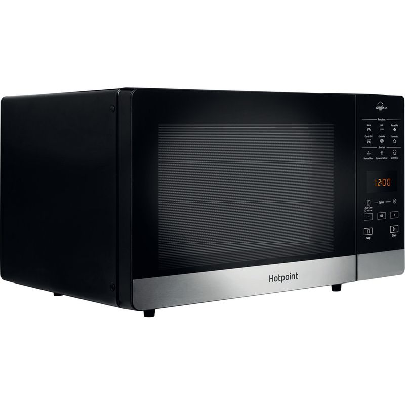 Hotpoint-Microwave-Free-standing-MWH-2734-B-Black-Electronic-25-MW-Combi-800-Perspective