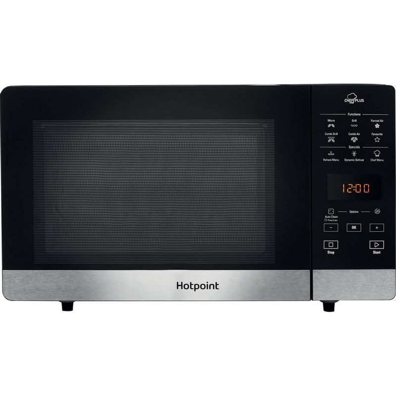 Hotpoint-Microwave-Free-standing-MWH-2734-B-Black-Electronic-25-MW-Combi-800-Frontal