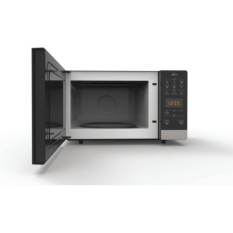 Hotpoint-Microwave-Free-standing-MWH-2734-B-Black-Electronic-25-MW-Combi-800-Frontal-open