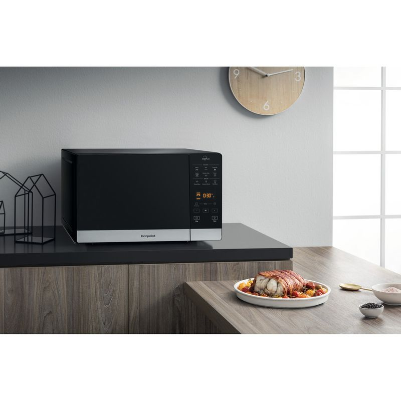 Hotpoint-Microwave-Free-standing-MWH-27343-B-Black-Electronic-25-MW-Combi-800-Lifestyle-perspective