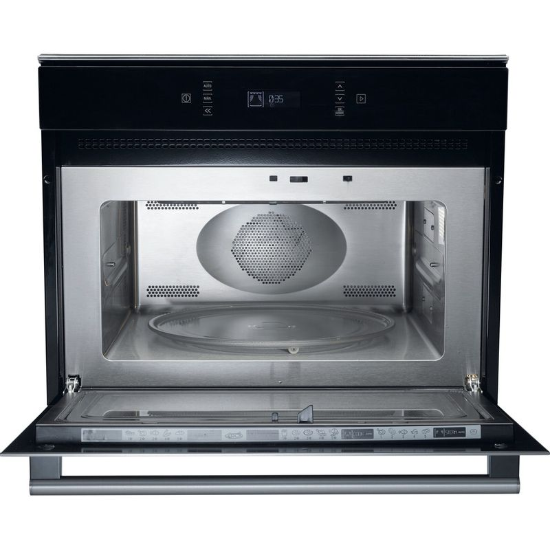 Hotpoint-Microwave-Built-in-MP-676-IX-H-Stainless-steel-Electronic-40-MW-Combi-900-Frontal-open