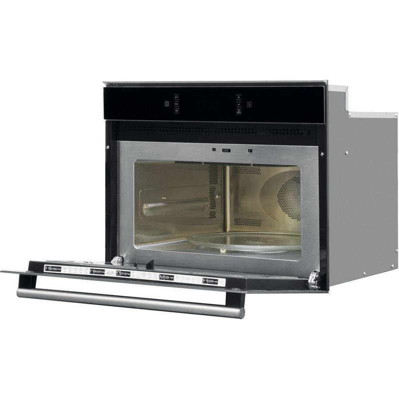 Hotpoint-Microwave-Built-in-MP-676-IX-H-Stainless-steel-Electronic-40-MW-Combi-900-Perspective-open