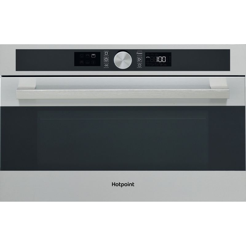 Hotpoint-Microwave-Built-in-MD-554-IX-H-Stainless-steel-Electronic-31-MW-Grill-function-1000-Frontal