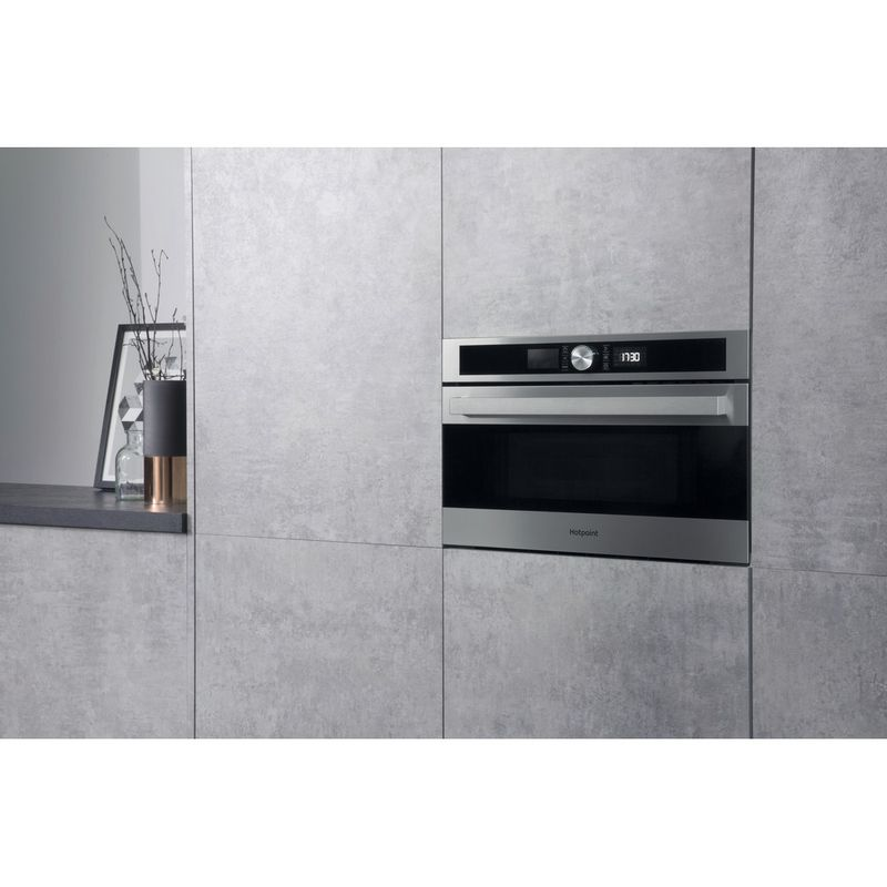 Hotpoint-Microwave-Built-in-MD-554-IX-H-Stainless-steel-Electronic-31-MW-Grill-function-1000-Lifestyle-perspective