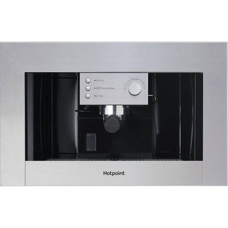 Hotpoint-Built-in-coffee-machine-CM-5038-IX-H-Inox-Half-automatic-Frontal